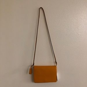 Yellow Mustard Shoulder Bag Purse